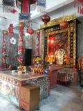 Mooie tempels en aantrekkelijkheden Historisch in Thailand Stock Foto's