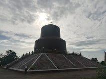 Mooie tempels en aantrekkelijkheden Historisch in Thailand Royalty-vrije Stock Foto