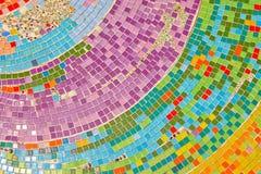 Mooie Textuur van Kleurrijk Mozaïek in Wat Pha Sorn Kaew Royalty-vrije Stock Foto