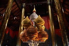 Mooie Thaise handcraft in de tempel Royalty-vrije Stock Foto's