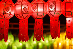 Mooie Thaise stijllantaarn Royalty-vrije Stock Foto