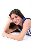 Mooie Tiener met Steunen Stock Fotografie