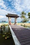 Mooie Toevlucht entrace Krabi, Thailand Stock Fotografie