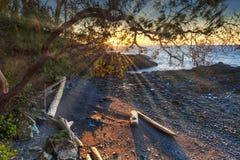 Mooie toneelscapes van Vancouver en Fraser Valley stock fotografie