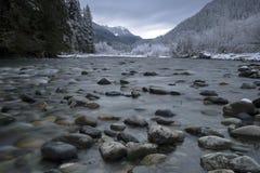 Mooie toneelscapes van Vancouver en Fraser Valley Scenic Backgrounds stock afbeeldingen