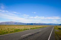 Mooie Toneelweg 8 van Nieuw Zeeland Stock Fotografie