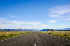Mooie Toneelweg 8 van Nieuw Zeeland Royalty-vrije Stock Afbeeldingen
