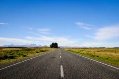 Mooie Toneelweg 8 van Nieuw Zeeland Stock Foto's