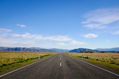 Mooie Toneelweg 8 van Nieuw Zeeland Royalty-vrije Stock Afbeelding