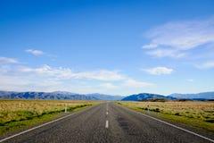 Mooie Toneelweg 8 van Nieuw Zeeland Royalty-vrije Stock Foto