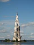 Mooie toren op een eiland Stock Afbeeldingen