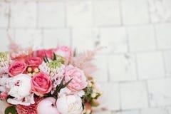 Mooie tot bloei komende bloemen stock afbeelding