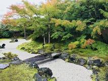 Mooie tuin van Entsuin-Tempel in Matsushima, Japan royalty-vrije stock foto