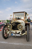 Mooie uitstekende auto bij de lentefestival van München Stock Foto