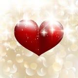 Mooie valentijnskaartachtergrond met harten. EPS 10 Royalty-vrije Stock Afbeeldingen