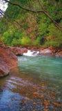 Mooie vallei nationale parktaza _jijel - Algerije stock fotografie