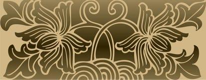 Mooie vectorillustratie Stock Foto's