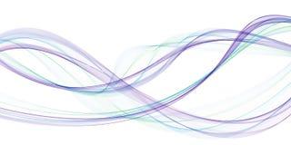 Mooie vectorvlam abstracte moderne golvende bedrijfsachtergrond royalty-vrije illustratie