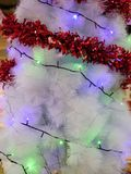Mooie verfraaide Kerstboom stock afbeelding