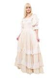 Mooie Victoriaanse Vrouw Royalty-vrije Stock Foto's