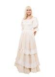 Mooie Victoriaanse Vrouw Royalty-vrije Stock Fotografie