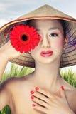Mooie Vietnamees Royalty-vrije Stock Fotografie