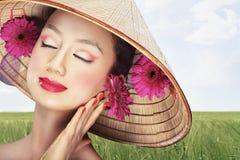 Mooie Vietnamees Stock Foto's