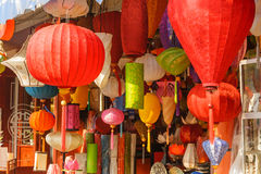 Mooie Vietnamese lantaarns Stock Afbeelding