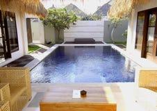 Mooie villa Stock Foto