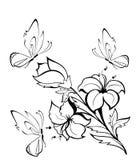 Mooie vlinders Stock Afbeeldingen