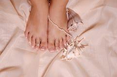 Mooie voeten Stock Afbeeldingen