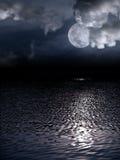 Mooie volle maan Royalty-vrije Stock Fotografie