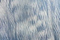 Mooie vorming van zand met verschillende kleur, zwarte en bro Royalty-vrije Stock Foto's