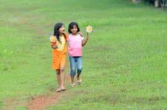 Mooie vriendschap Stock Foto