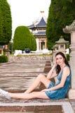 Mooie vrouw Royalty-vrije Stock Afbeelding