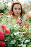 Mooie vrouw Royalty-vrije Stock Afbeeldingen