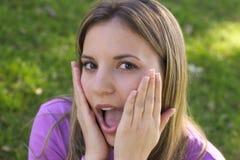 Mooie Vrouw Stock Foto's