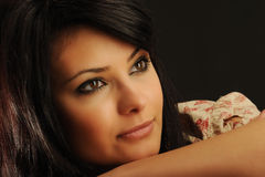 Mooie vrouw Stock Afbeelding