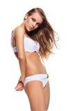 Mooie vrouw in bikini Royalty-vrije Stock Fotografie
