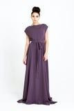 Mooie vrouw in kleding Royalty-vrije Stock Afbeelding