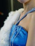 Mooie vrouw met juwelen Stock Foto