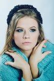 Mooie vrouw met make-up Stock Afbeeldingen