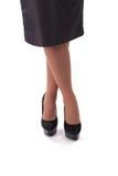 Mooie vrouwelijke benen Royalty-vrije Stock Afbeelding