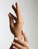 Mooie Vrouwelijke Handen Royalty-vrije Stock Foto