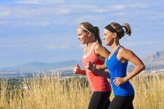 Mooie Vrouwelijke Joggers Stock Foto