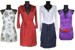 Mooie vrouwelijke kleding royalty-vrije stock fotografie
