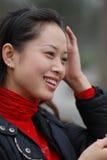 Mooie vrouwen met charmante ogen Stock Foto's