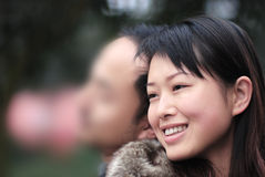 Mooie vrouwen met charmante ogen Royalty-vrije Stock Foto's