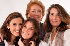 Mooie vrouwenleeftijden Stock Fotografie