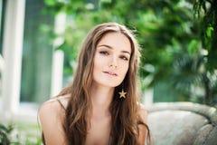Mooie vrouwenmannequin royalty-vrije stock foto's